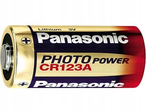 Panasonic Batéria CR123 DL123 CR17345 123A CR123A