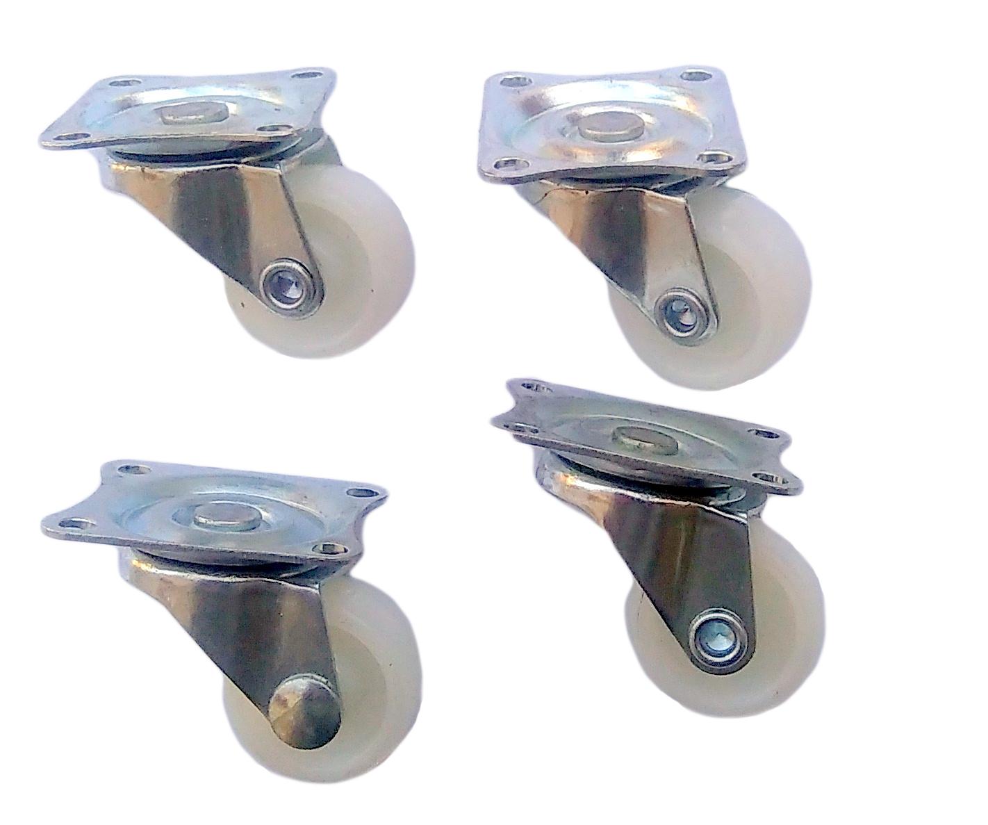 25 mm Nastaviť nábytok Kruh Kolesové koleso 4 Torzia