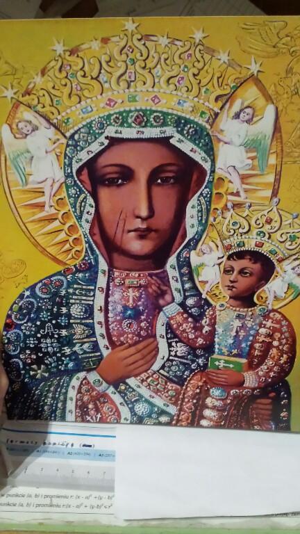 Plakat Obraz Matka Boża Boska Częstochowska