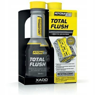 Xado Atomex Total Flush Płukanka do jazdy 250ml