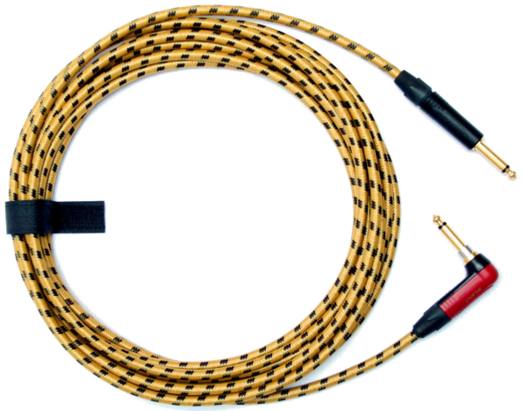Gitarový drôt 4m extra braid neutrik tichý