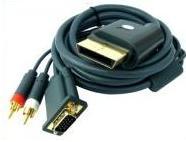 Xbox 360 VGA HD AV LCD / CRT monitor