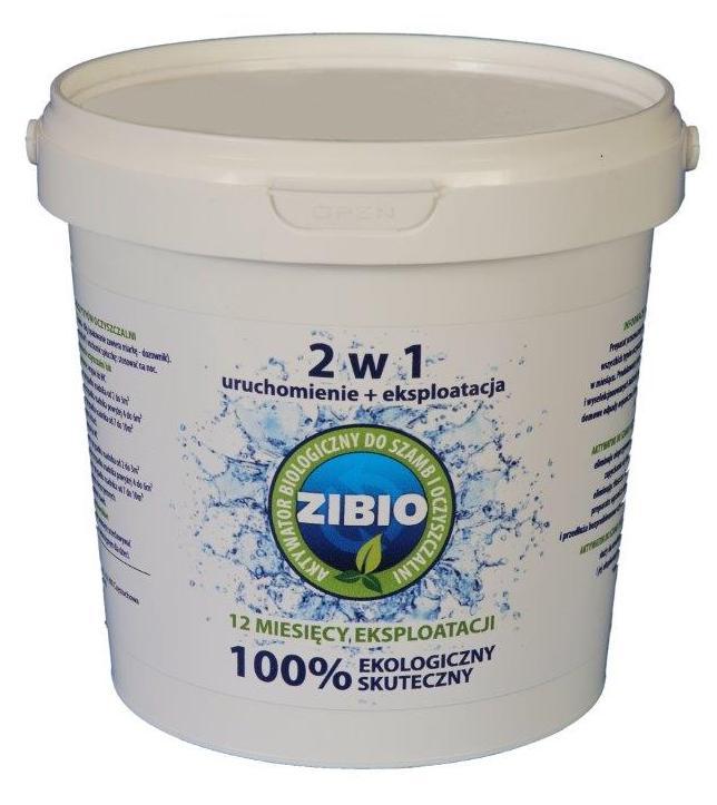 BIO MAX Bakterie do oczyszczalni szamba ZIBIO 1kg