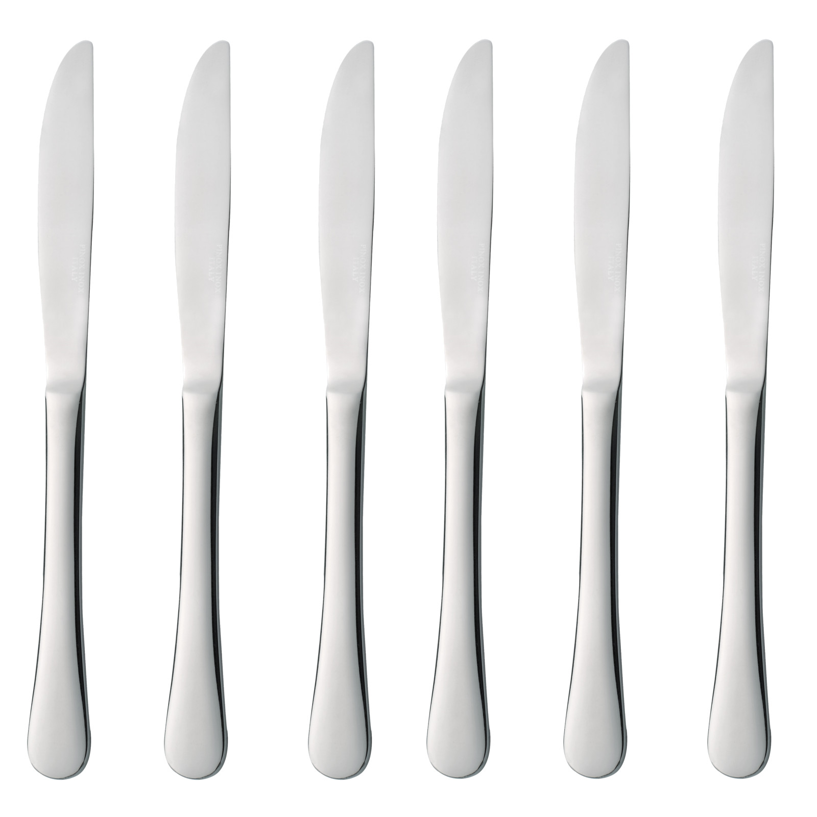 6x stolové nože Dinnerware Steel Blues Hendi