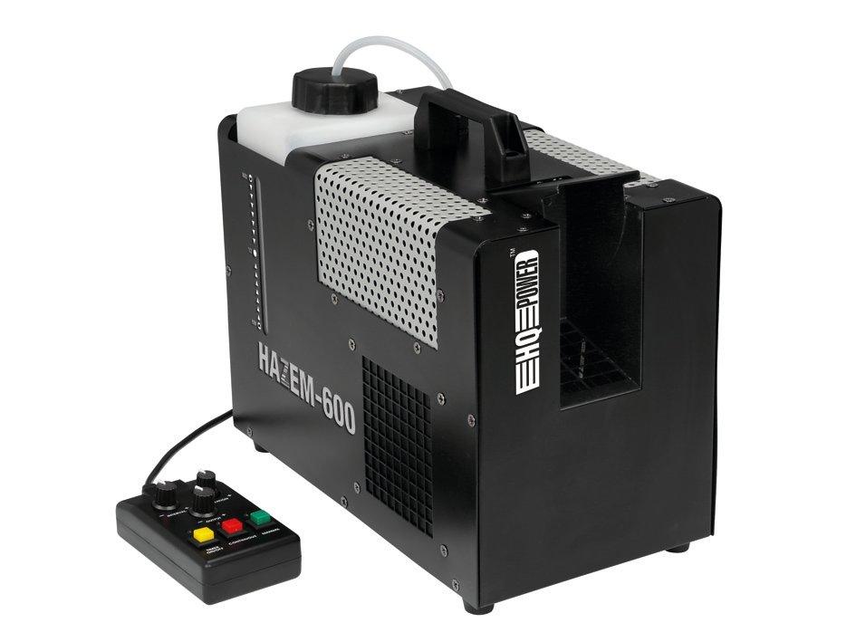 Generátor hmly 600 W s diaľkovým ovládaním a časovačom