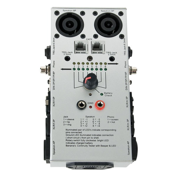 DAP Audio Professional Cable Tester