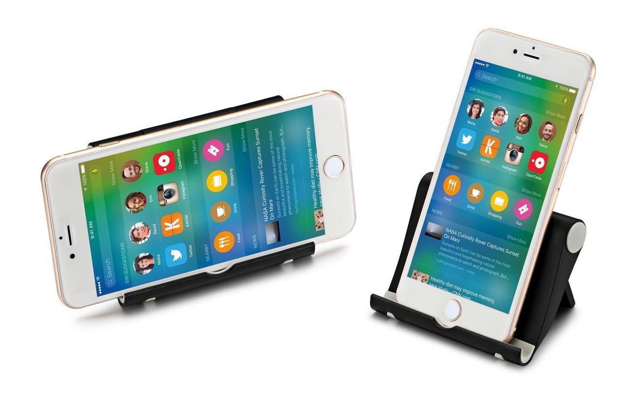 Item ADJUSTABLE STAND HOLDER FOR TABLET PHONE COLOR