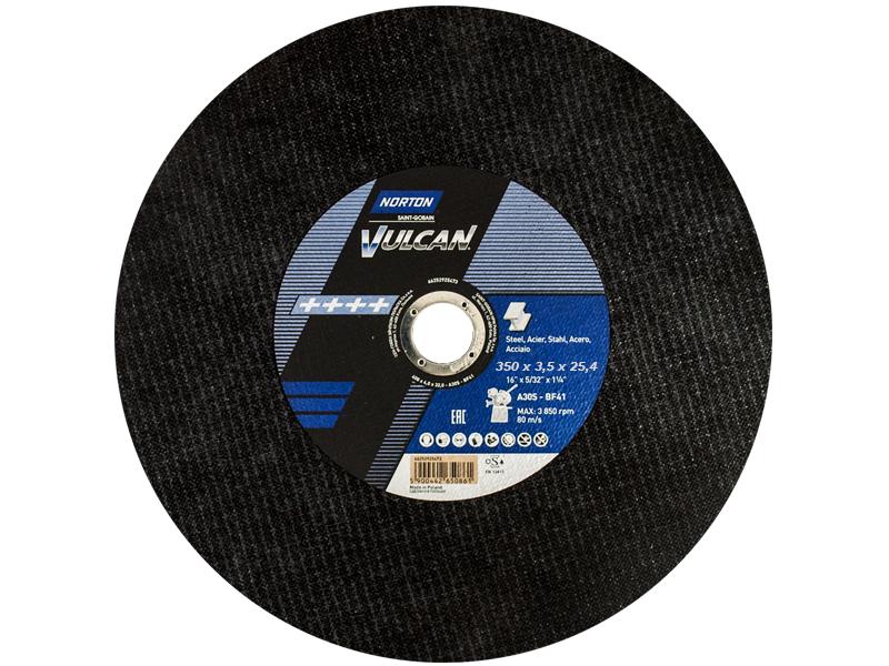Tarcza do metalu 350x3,5x25,4mm VULCAN NORTON 1szt