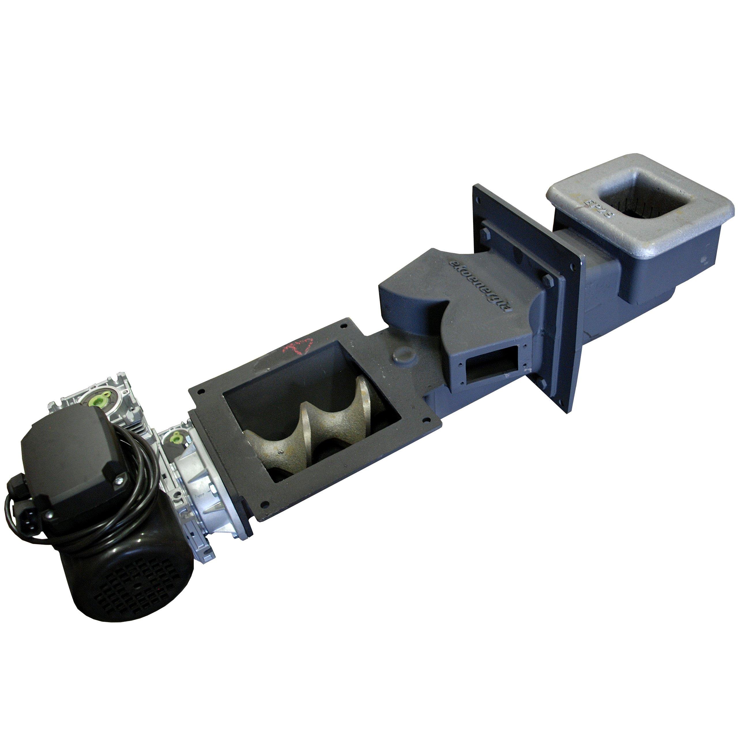 Podávač na ekologické hrachové uhlie a jemné uhlie EKOENERGIA 15 kW Typ sporáka: dvojfunkčný, dvojfunkčný, so zásobníkom teplej vody, jednoúčelová spaľovacia komora