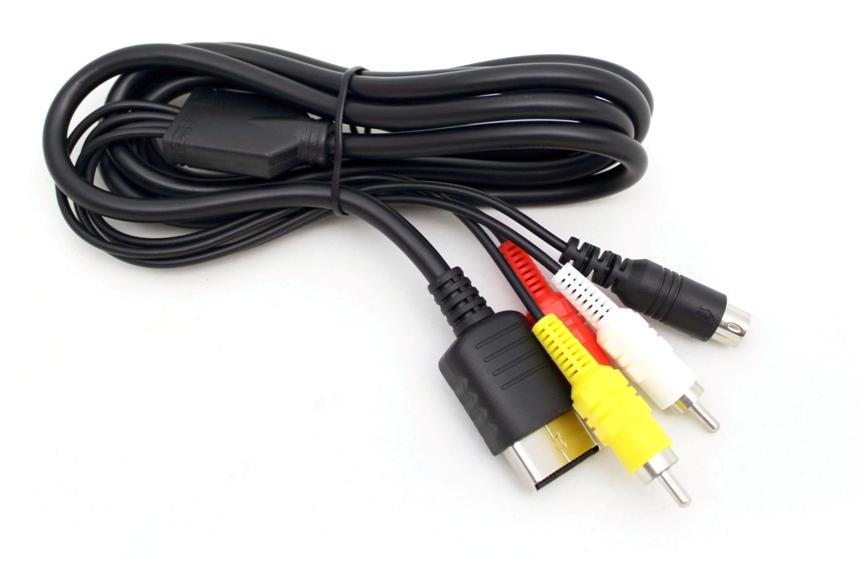 Item The S-video cable AV a Sega Dreamcast
