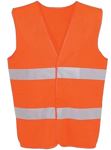 Reflexná výstražná vesta Orange ADR
