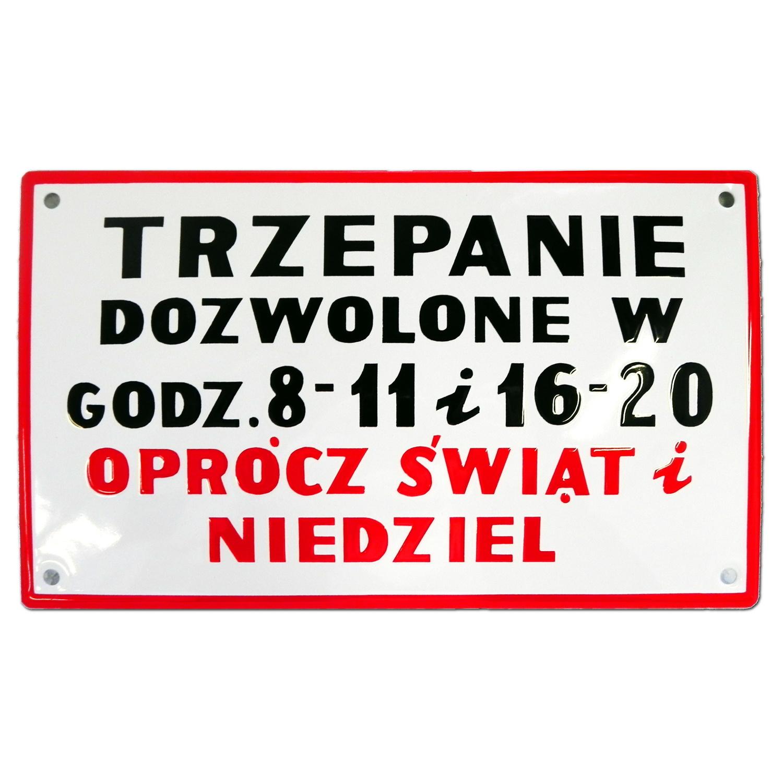 TRIPPING забавный эмалевый знак из Польской Народной Республики GW 10 лет