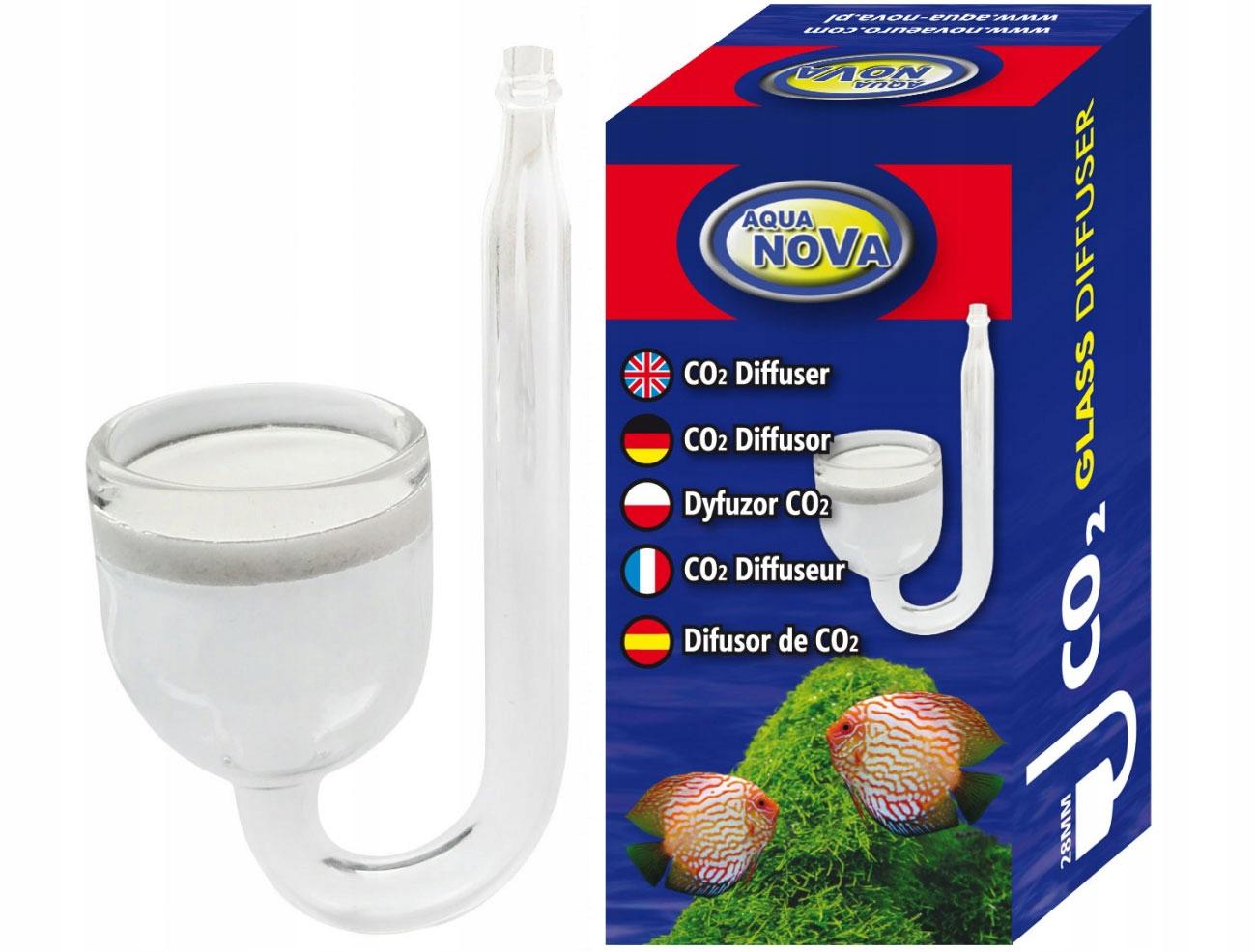 Aqua Nova SZKLANY DYFUZOR CO2 28mm - spiek