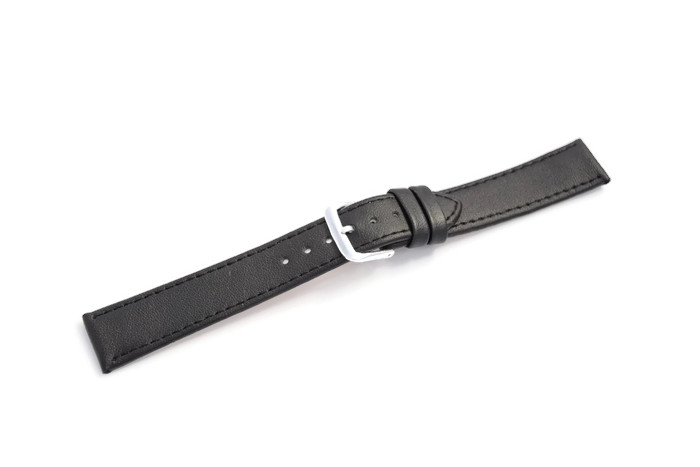 Item WATCHBAND BLACK 22MM STANDARD DESIGN