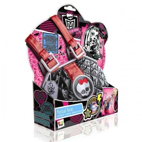 Monster High Handbag Music Bag Hrať nové