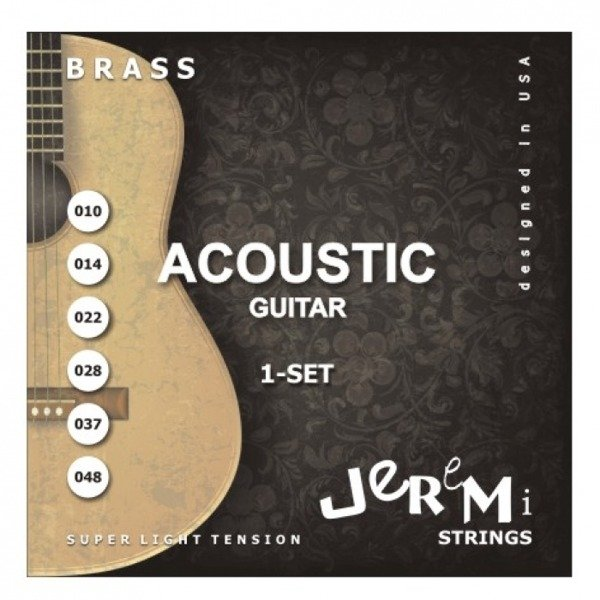 Jeremi reťazce pre kovové akustické gitary 10-48