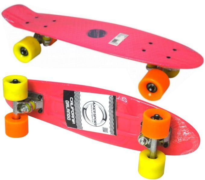 Skateboard FISZ AXER CALIFORNIA do 100 kg ABEC-7 (str