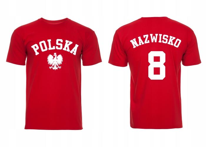 Poľské národné tímové tričko s menom