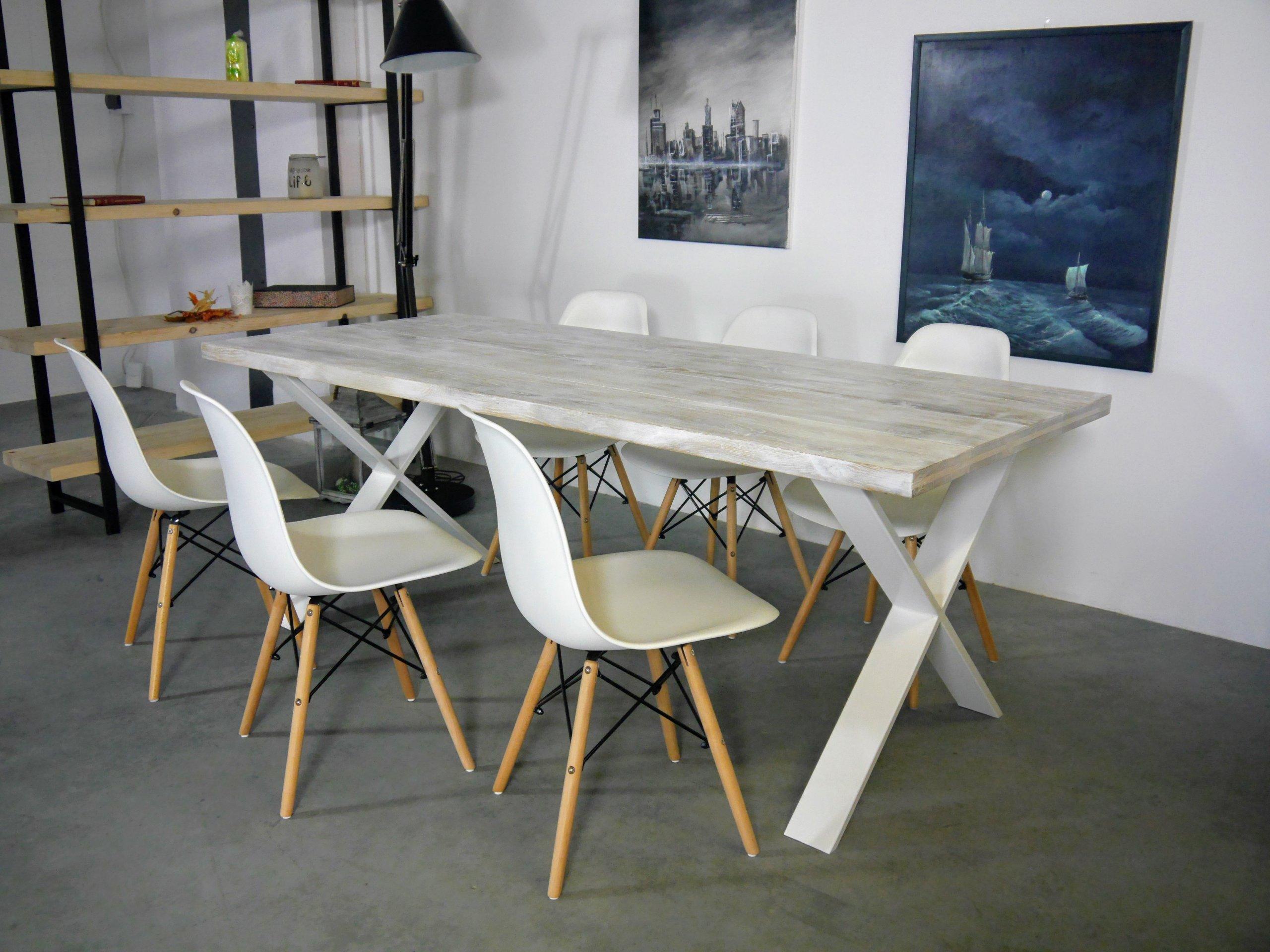 konferenčný stolík loftowy staré Toskánskej Škandinávskych