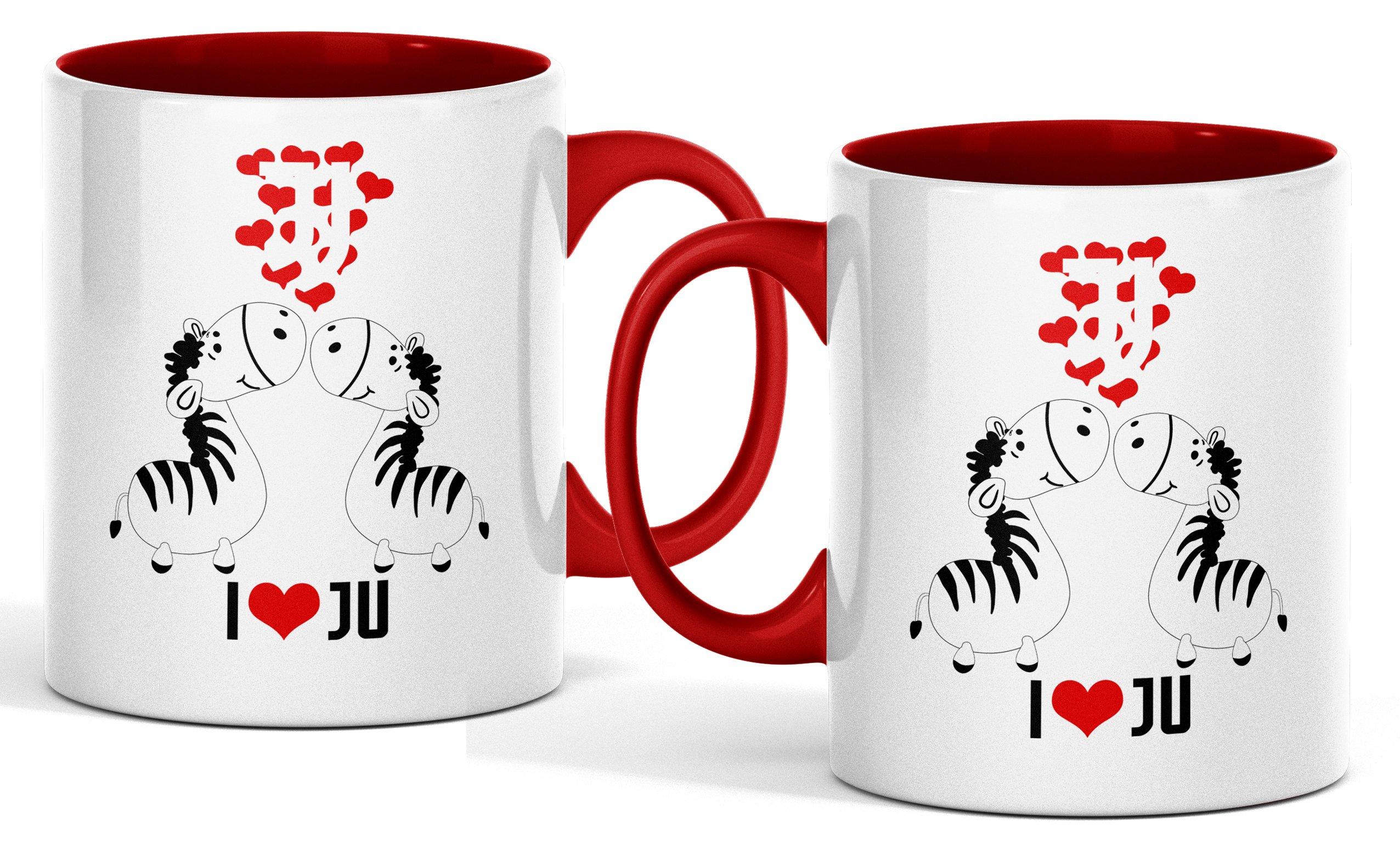 Juventus Cup a Love Ju Valentína 330ml