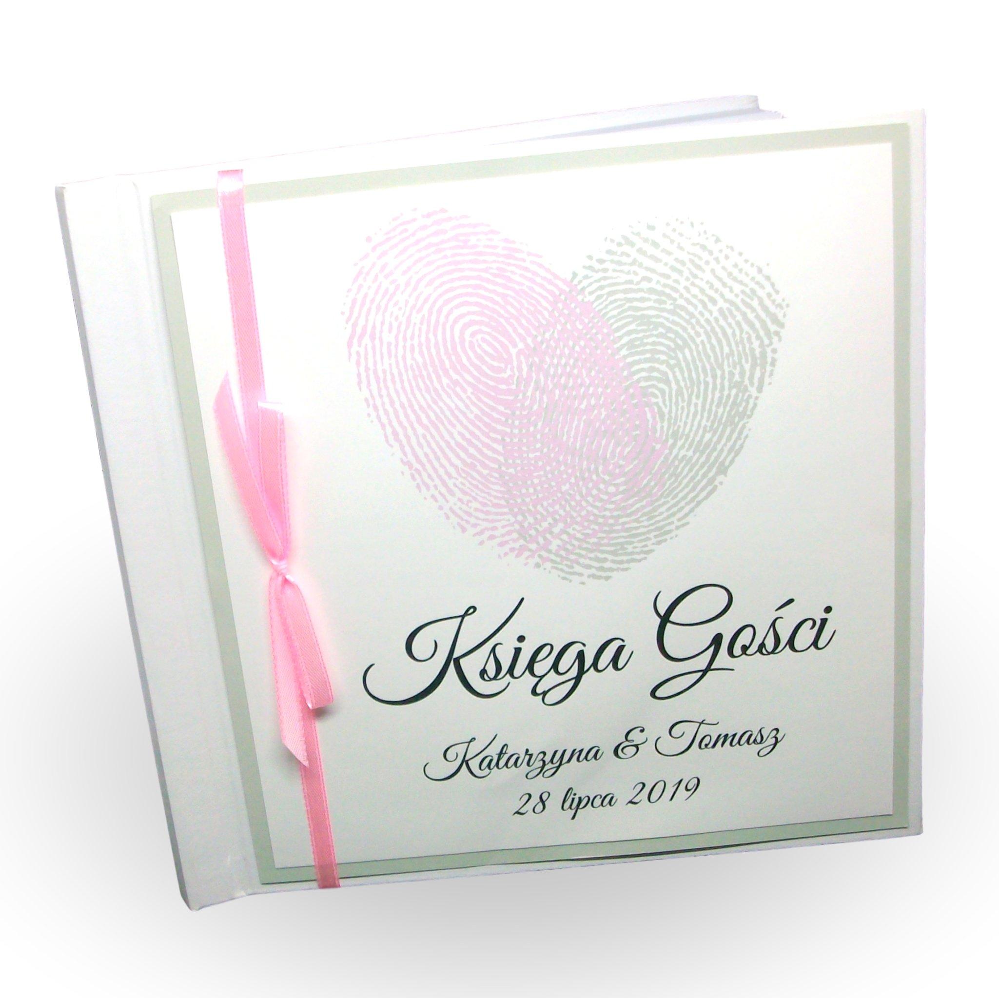 книга гостей свадьба крещение 18 год отпечаток палец