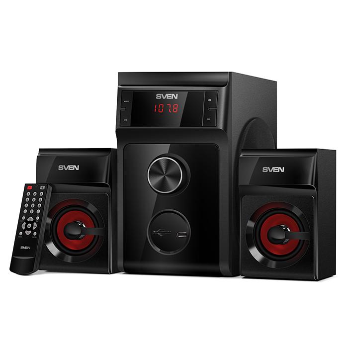 SVEN MS-302 Reproduktory 2.1 40W USB, FM RADIO