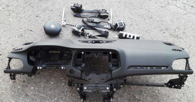 renault megane iv 4 доска airbag консоль кокпит пока