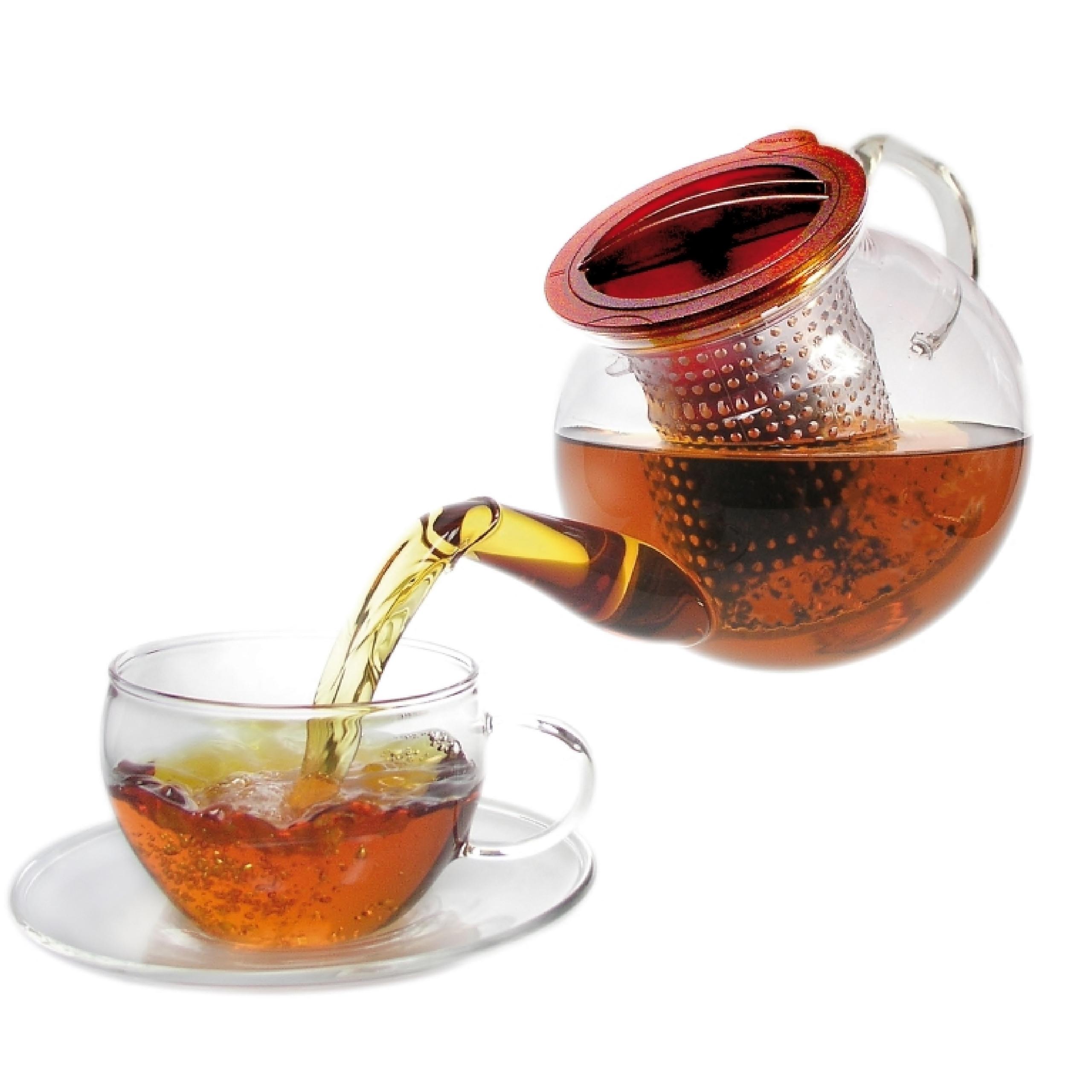 Zaparzacz kanvica sklenená čaj FINUM %%