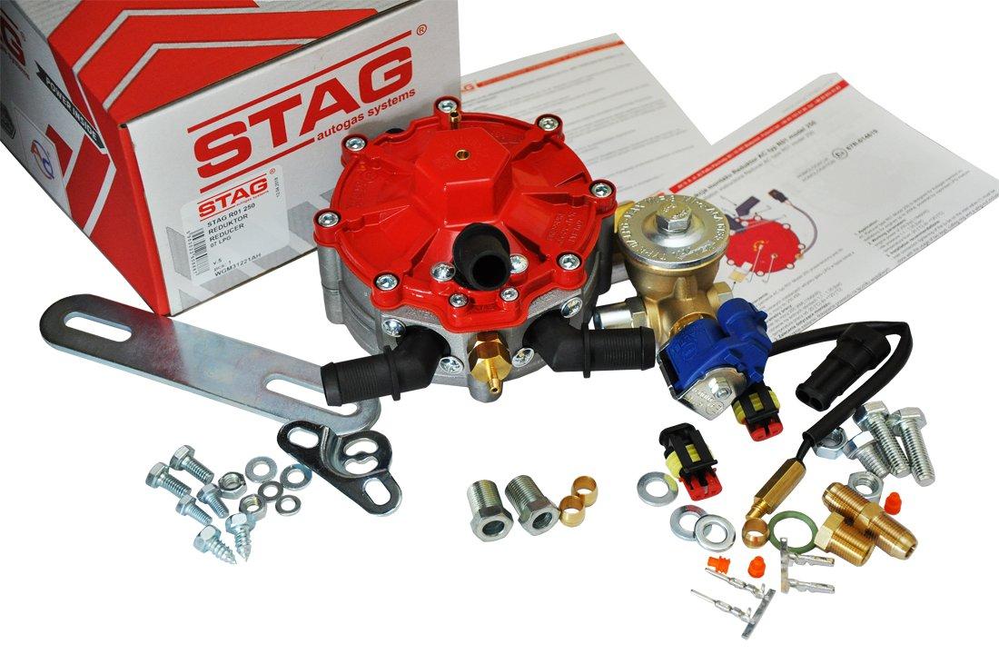 stag r01 250 редуктор испаритель клапан газовый fi8