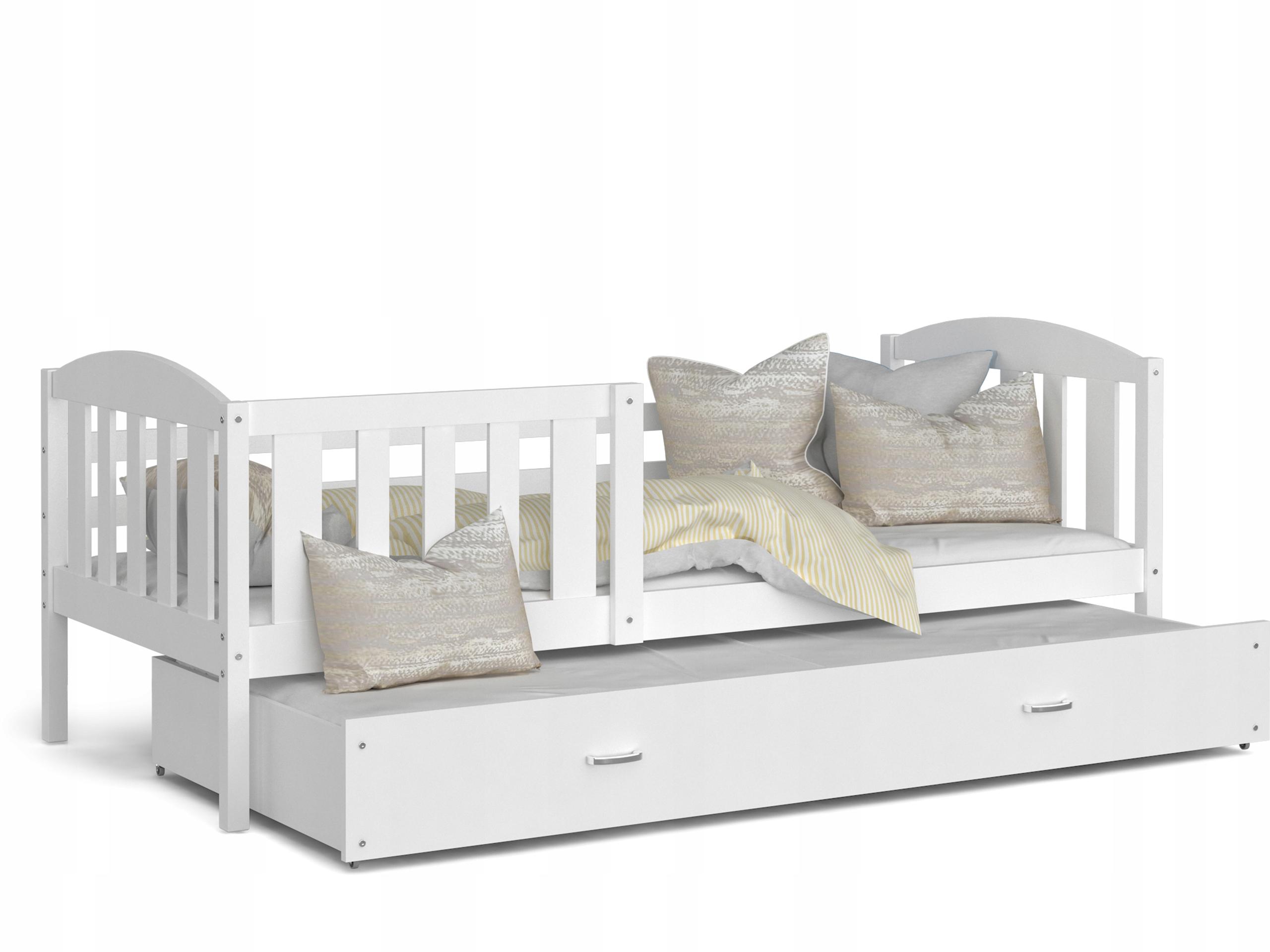 łóżko Piętrowe Kubuś P 2 Osobowe Rozsuwane Kolory