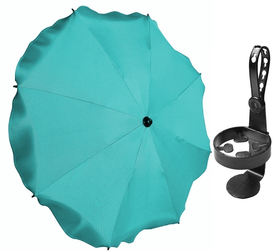 Item PARASOLS FOR PRAMS WITH UV FILTER + CUP HOLDER