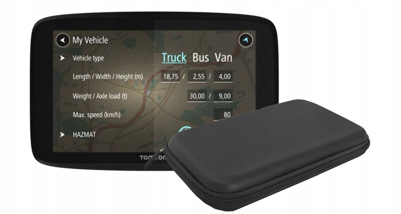 TomTom GO PROFESSIONAL 6250 GPS для грузовика с навигацией
