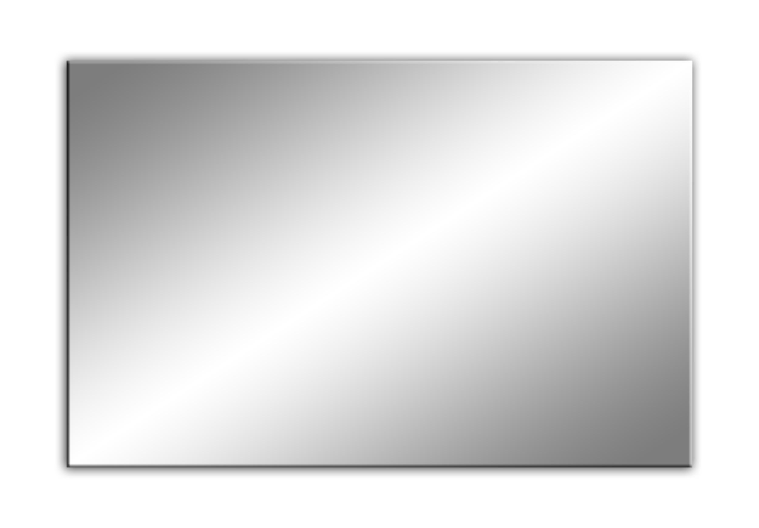 Zrkadlo Tafle s prepínačom + POLER 90X60 10