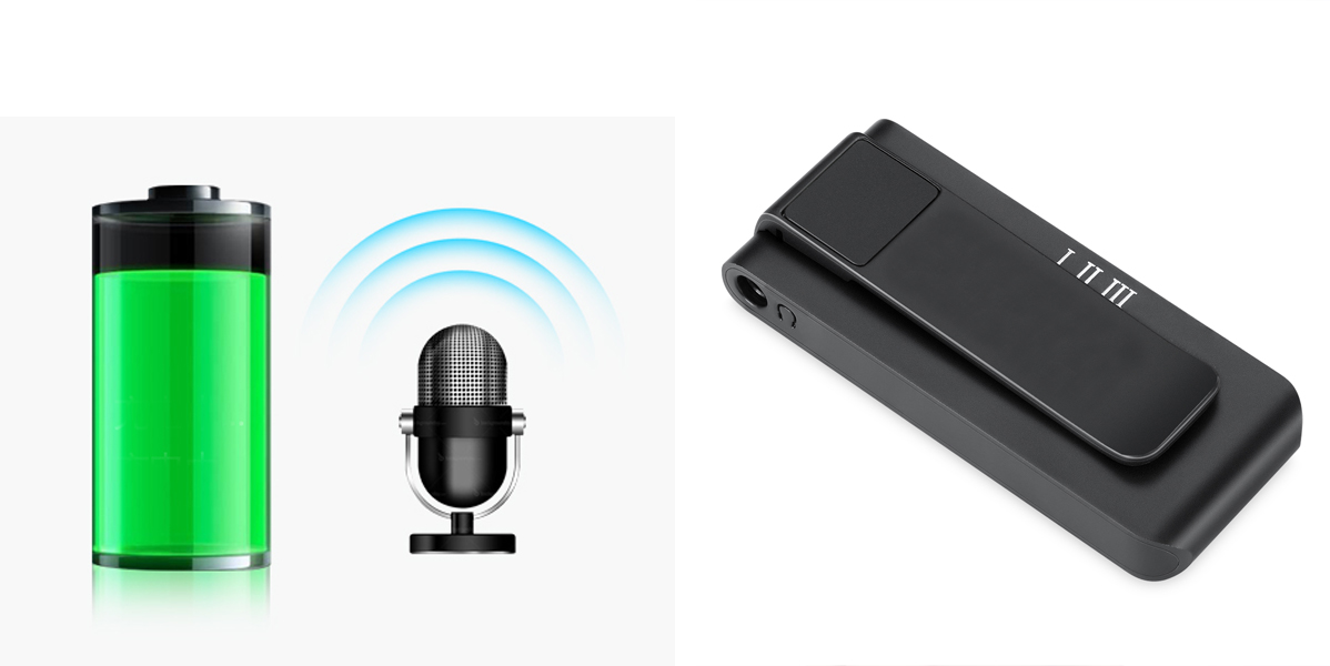 PROFESJONALNY DYKTAFON PODSŁUCH VOX 16GB +MIKROFON Mikrofon stereofoniczny