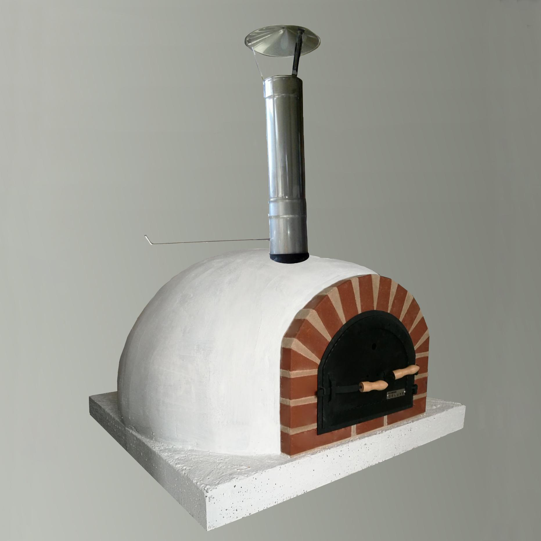 Chlieb pečená pizza pec chlieb slnené drevo