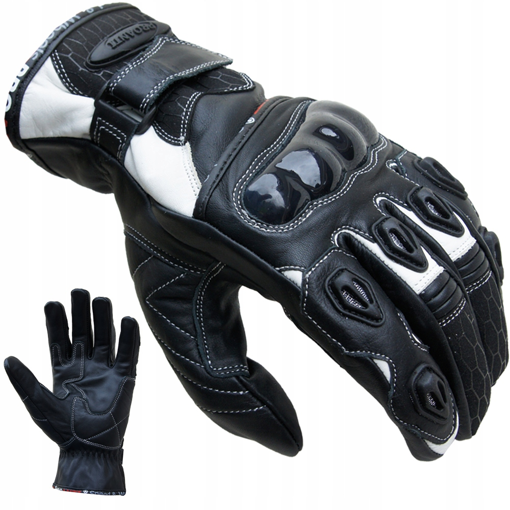 Picture of GLOVES MOTORCYCLES LEATHER PROANTI 1 COLORS