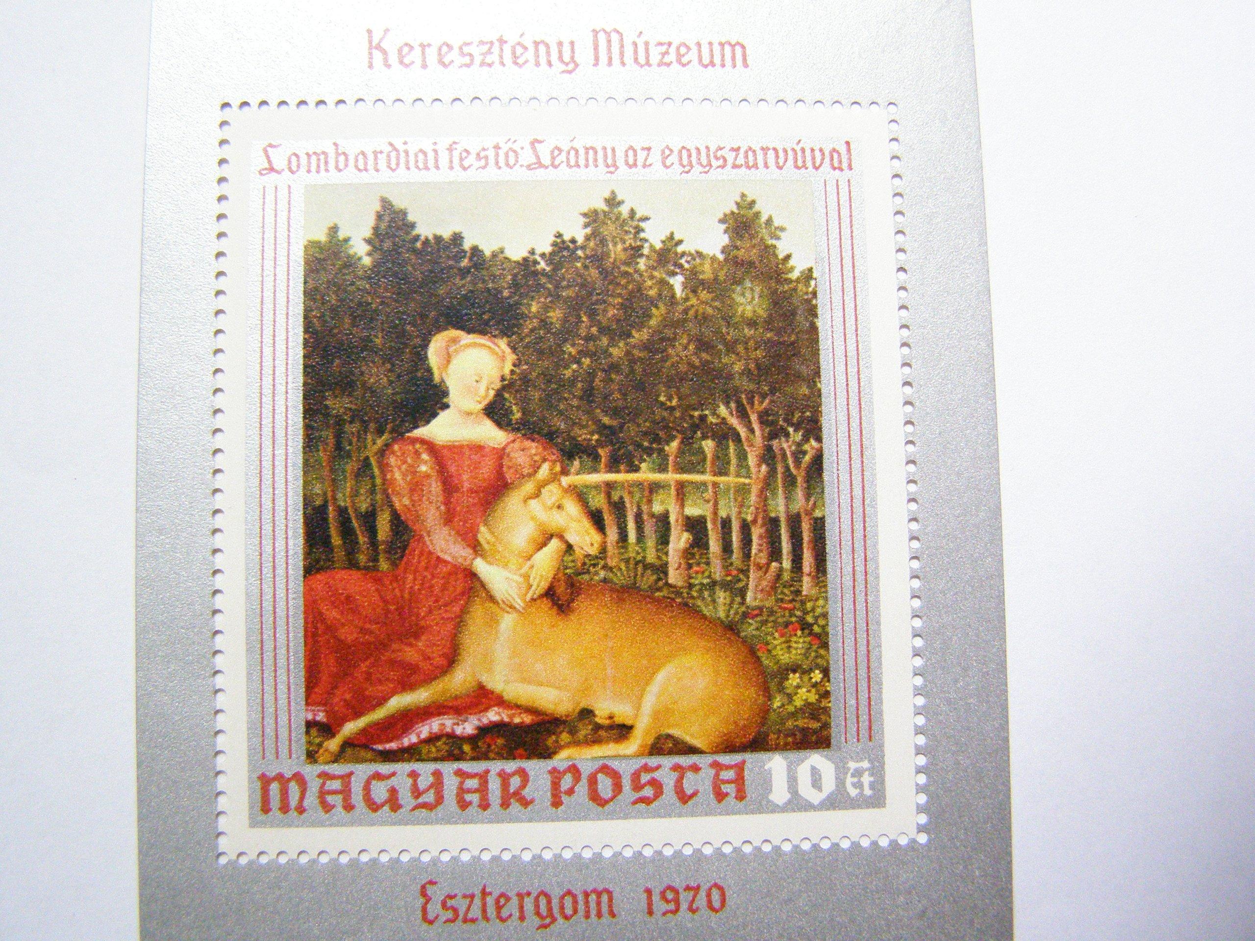 Венгрия - живопись - Mi. бл.78 **