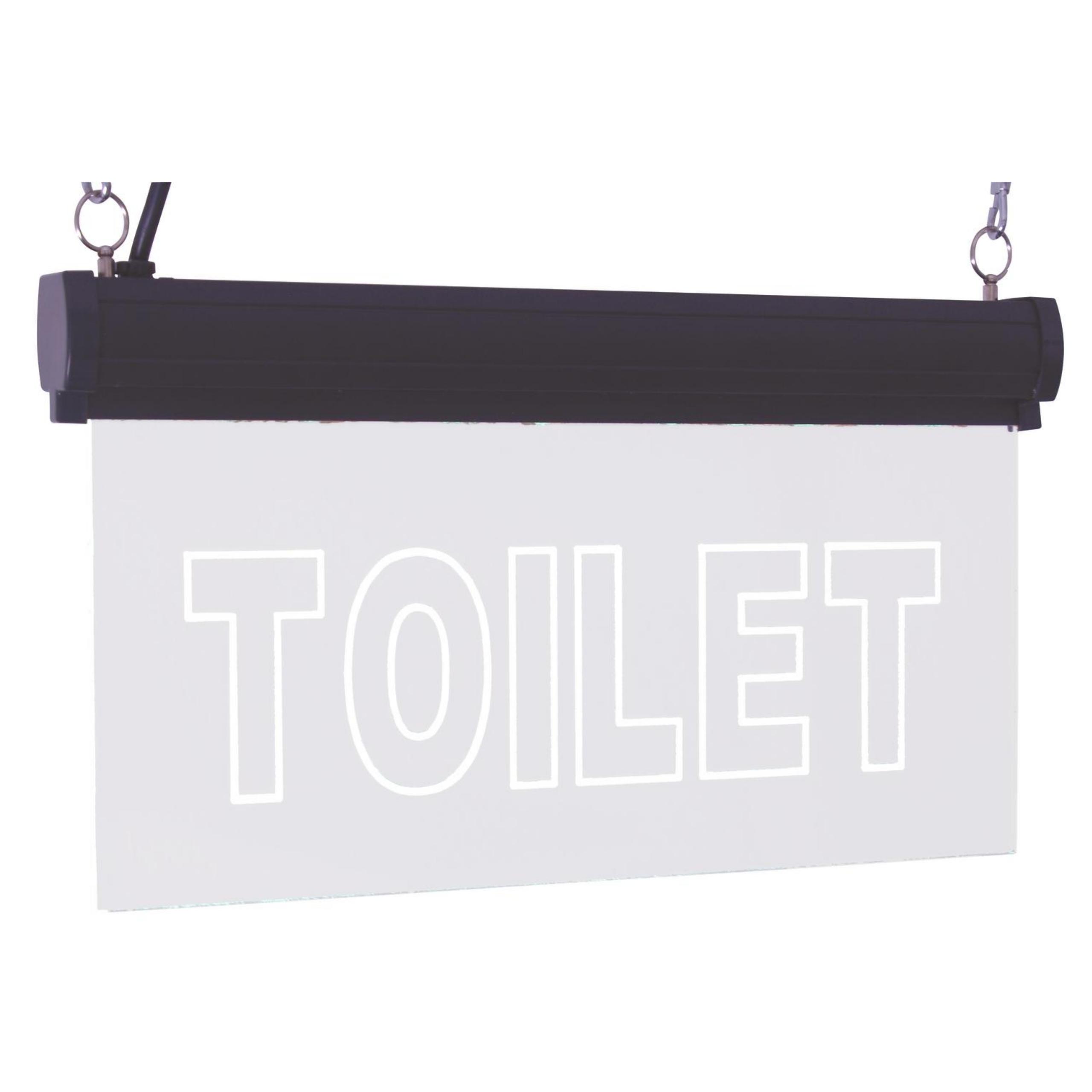RGB LED informačná doska - WC