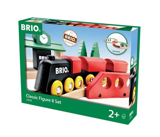 BRIO 33028 Klasický obrázok-z-Osem - drevené Lišty NOVÉ