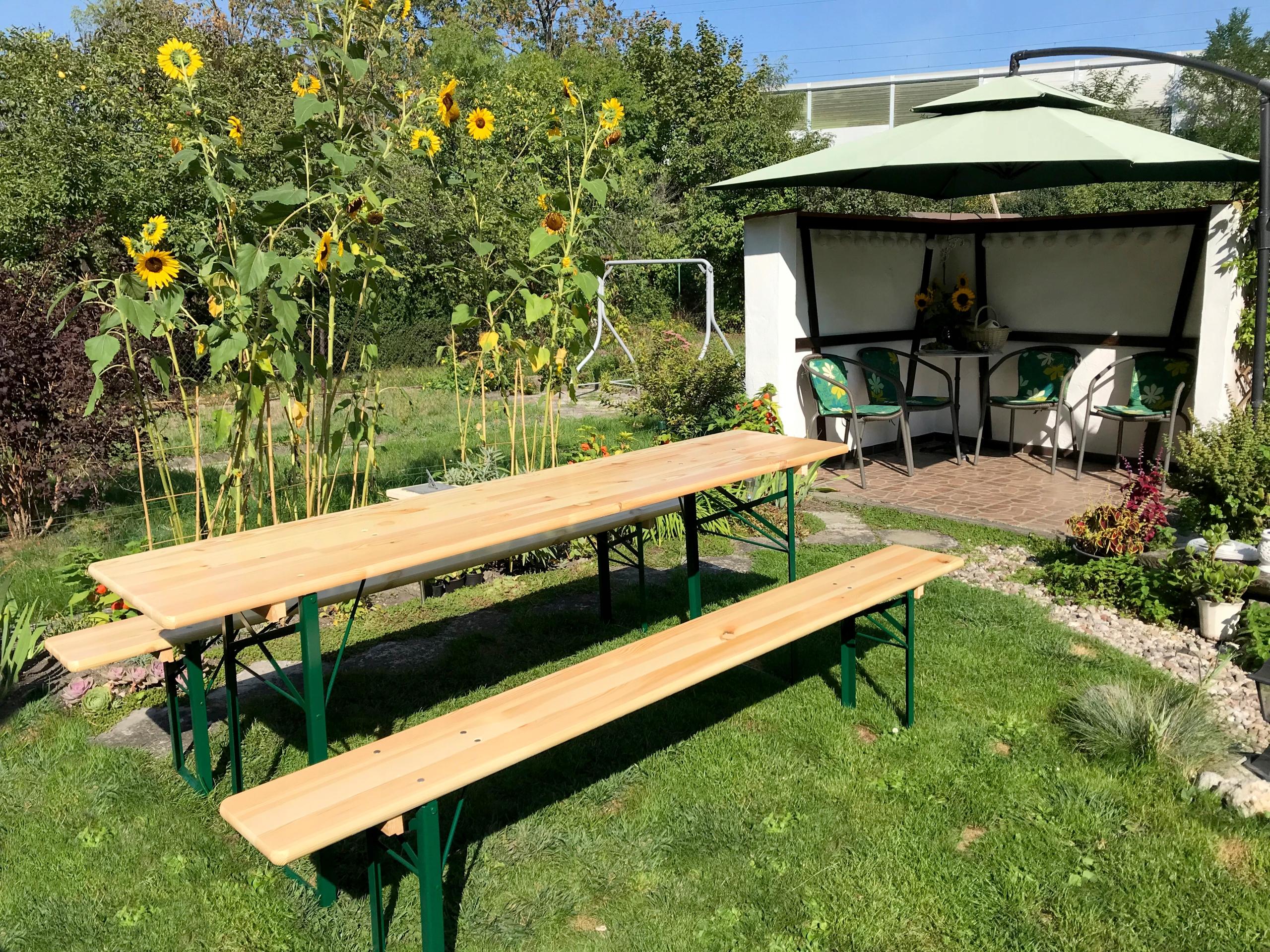 banketová súprava pivná súprava 80 cm stôl + 2 lavice Hmotnosť produktu s individuálnym balením 70 kg
