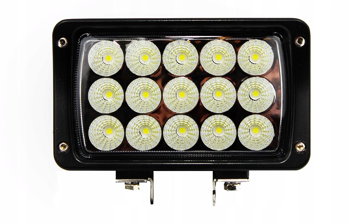 лампа led рабочая 15 led 45w 10-30v дальний дальность