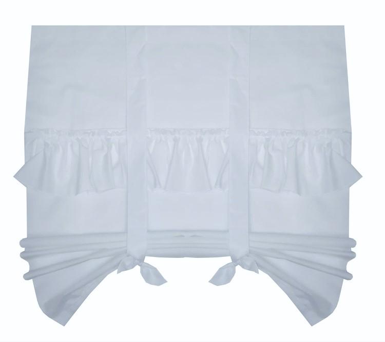 160 CM záclona ROLETA záclona RETRO SHABBY