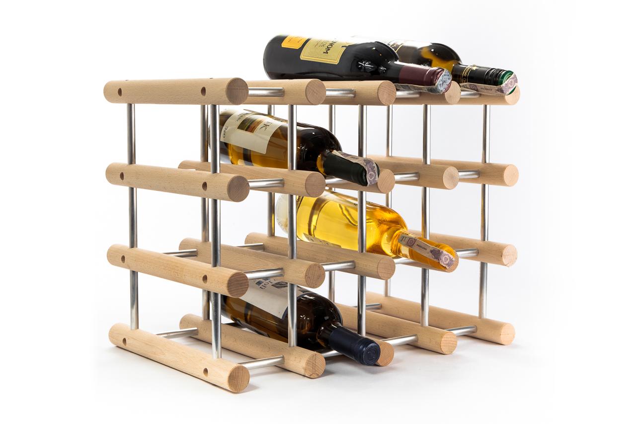MODUŁOWY Regał,stojak na wino 16 butelek NOWOŚĆ