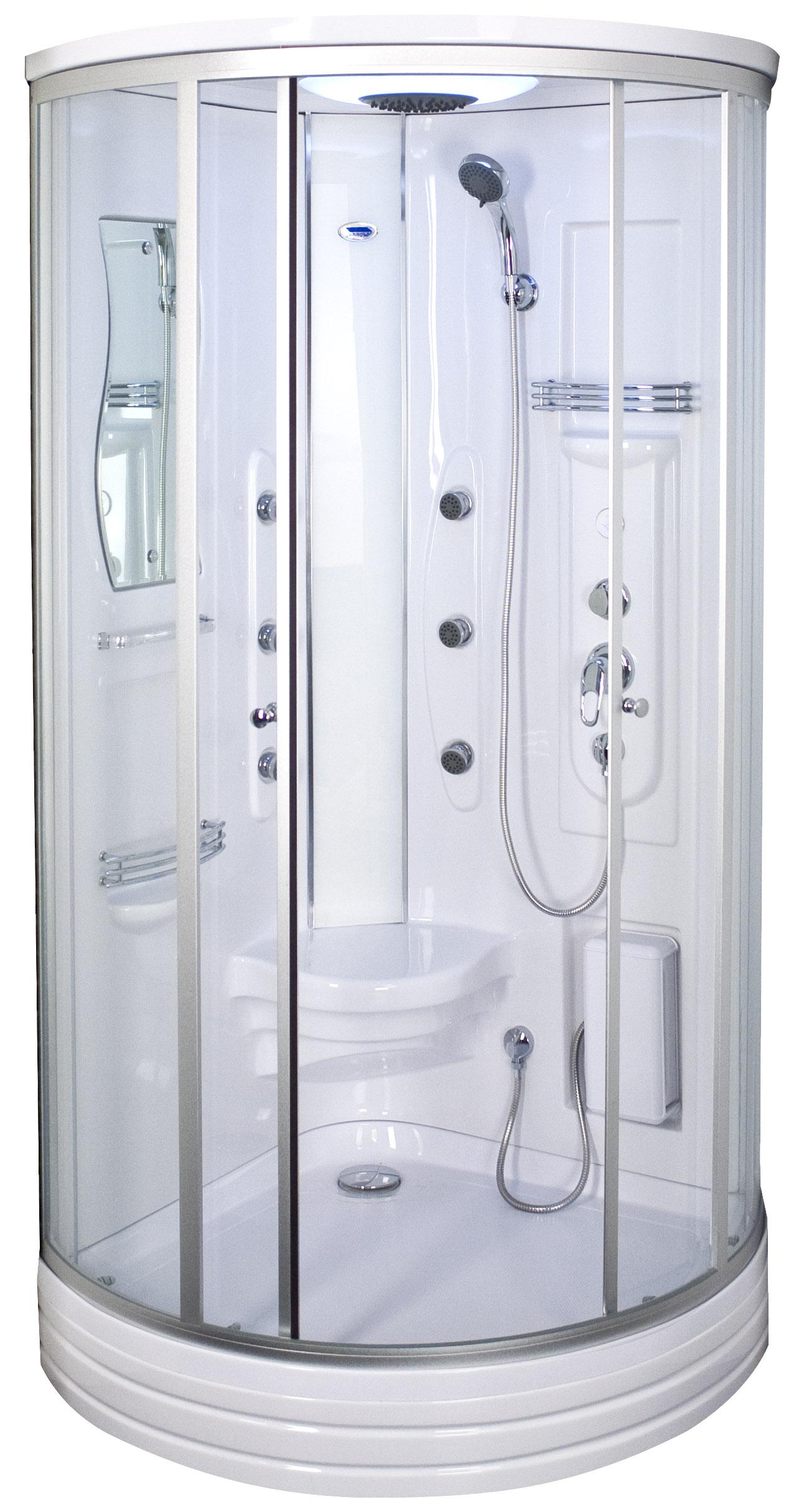 Sprchové kabíny s horúcou vaňou DUSCHY 6015