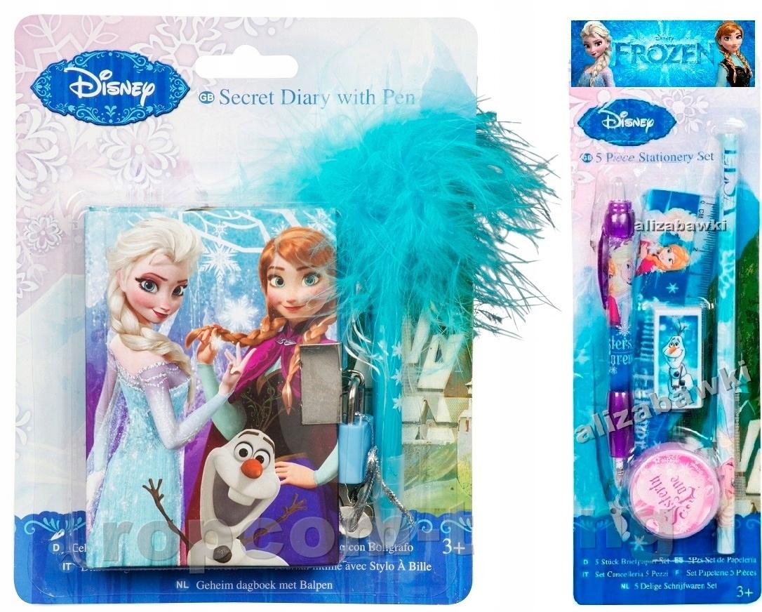 FROZEN Frozen Set Diary Visací zámok Poznámky 7