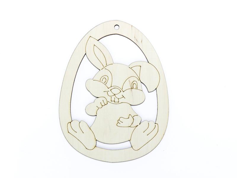 Купить Яйцо из фанеры № 27 Быстрому Кролик в pisance на Otpravka - цены и фото - доставка из Польши и стран Европы в Украину.