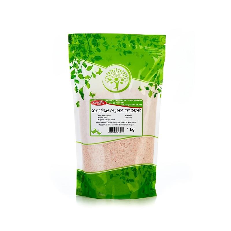 Купить СОЛЬ HIMALAJSKA розовая МЕЛКАЯ 1 кг ЕСТЕСТВЕННАЯ AGNEX на Otpravka - цены и фото - доставка из Польши и стран Европы в Украину.