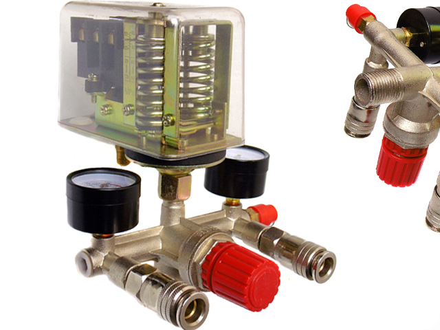 PRESOSTAT 400v i wyłącznik ciśnieniowy do kompresor