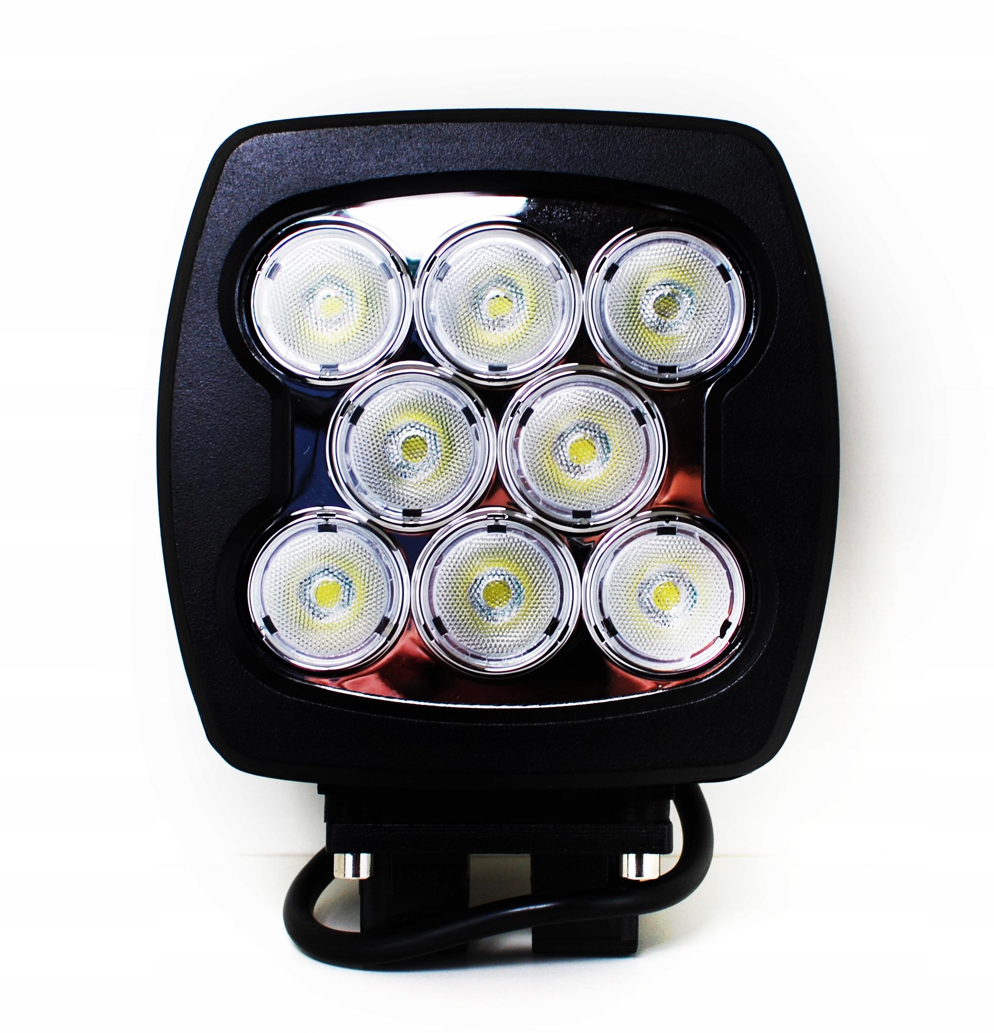 LAMPA LED ROBOCZA 8 LED 80W 10-30V DALEKOSIĘŻNA