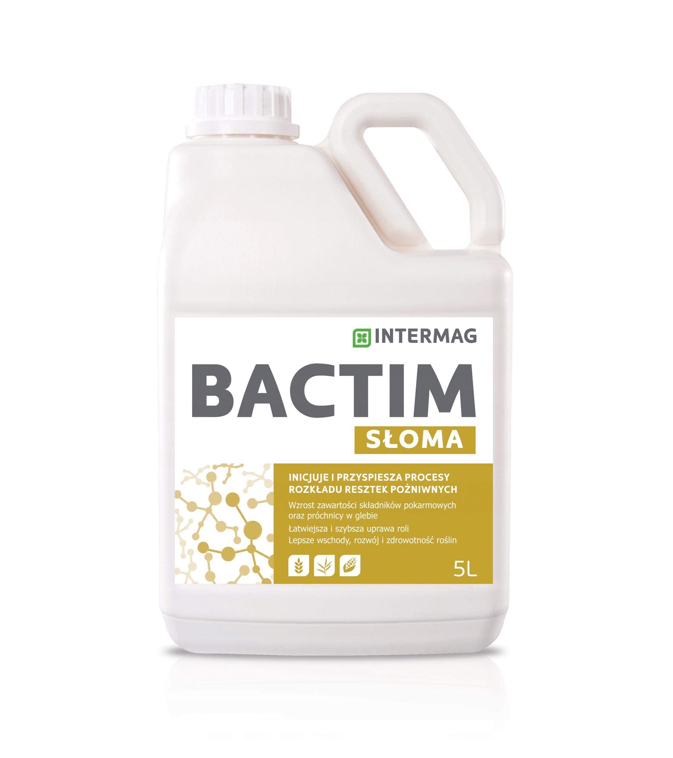 Принимайте bactim СОЛОМА на разложение соломы INTERMAG 5Л